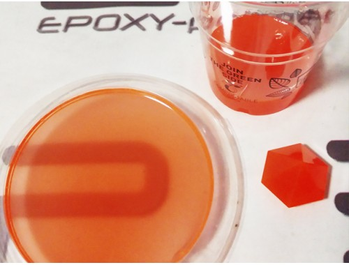 Флуоресцентний барвник оранжевий (100г)