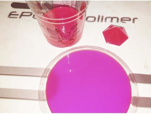 Флуоресцентний барвник рожевий (100г)